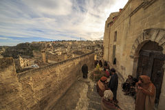Matera film set Royalty Free Stock Photo