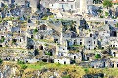 Matera Italië royalty-vrije stock afbeelding