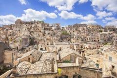 Matera, Italië Stock Afbeelding