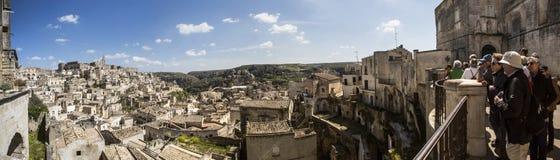 Matera, Italië, 21 April, 2015: Stock Foto's