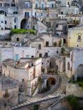 Matera in Italia Fotografia Stock Libera da Diritti