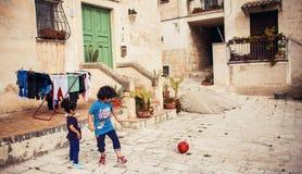 Matera, Italia fotografia stock libera da diritti