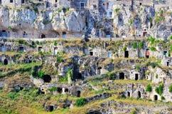 Matera Italia foto de archivo