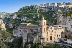 Matera, Italien stockfotografie