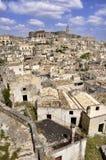 Matera - Italien Arkivfoto