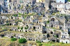 Matera Italien royaltyfri fotografi