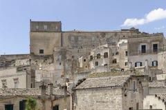 Matera, Italien: Alte Stadt von Matera, Sassi di Matera, Basilikata stockfotografie