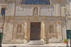 Matera Italien: Forntida stad av Matera, Basilicata royaltyfria bilder