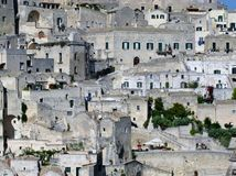Matera in Italy Stock Photography