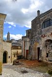 Matera in Italy Royalty Free Stock Photo