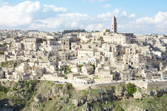 Matera, Italy, Unesco heritage Stock Images