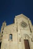 Matera katedra w Włochy fotografia royalty free