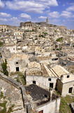 Matera - l'Italie Photo stock