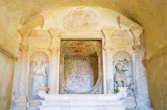 Matera, la città del Sassi, stabilimento preistorico della troglodita Immagine Stock