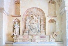 Matera, la città del Sassi, stabilimento preistorico della troglodita Fotografia Stock Libera da Diritti