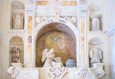 Matera, la città di rhe Sassi, stabilimento preistorico della troglodita Fotografie Stock