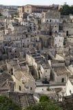 Matera landscape Royalty Free Stock Photo