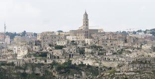 Matera landscape Royalty Free Stock Photos