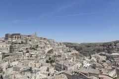 Matera landspcape Royaltyfri Bild