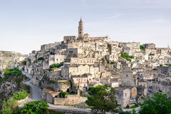 Matera, Medieval town in Italy royalty free stock image
