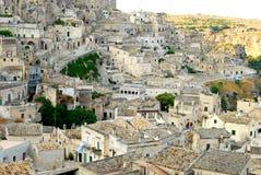 Matera miasto Sassi, Basilicata - Włochy n 242 Obraz Stock