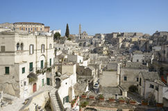 Matera old town - Basilicata, Italy Royalty Free Stock Photos