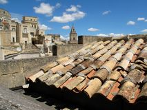 Matera roof Royalty Free Stock Photography