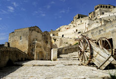 Matera's city Royalty Free Stock Photography