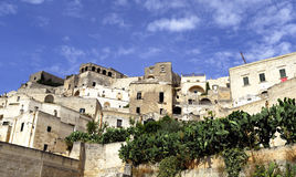 Matera's city Royalty Free Stock Images