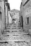 Matera`s Sassi  - Italy Royalty Free Stock Photography