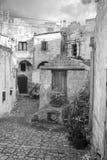 Matera`s Sassi panorama - Italy Royalty Free Stock Image