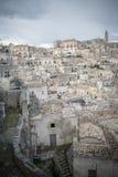 Matera`s Sassi panorama - Italy Stock Photo