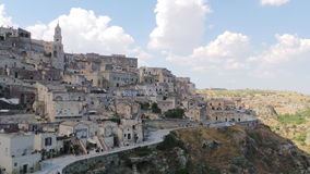 Matera sassi royalty free stock photo