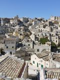 Matera in the south of Italy Stock Photo