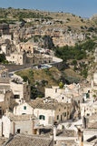 Matera town in southern Italy Stock Photography