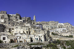 Matera view from balcony Royalty Free Stock Photography