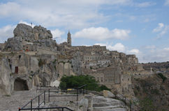 Matera view Royalty Free Stock Images