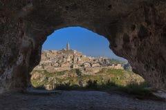 Matera village, Italy Stock Image