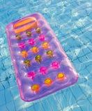 materac pływakowy basen Zdjęcie Royalty Free