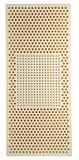 Materasso del lattice isolato su bianco immagine stock