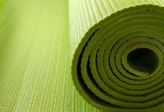 materasso di yoga fotografia stock libera da diritti