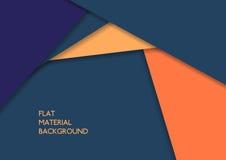 Materiële ontwerpachtergrond Stock Fotografie
