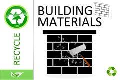 materiał budowlany zadawalają przetwarzają Obrazy Stock