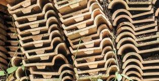 Materiał płytka dla dachu Obrazy Stock
