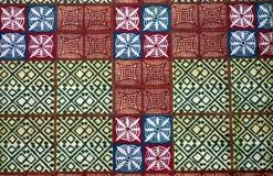 materiał sukienny lokalna afrykański Fotografia Stock
