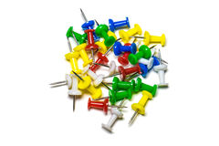Materiały barwiący guziki Fotografia Stock