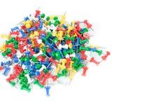 Materiały koloru szpilki Używać w biurze zdjęcie royalty free