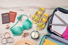 Materia brillante del verano para el centro turístico Imágenes de archivo libres de regalías