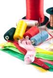 Materia de costura Imagen de archivo libre de regalías