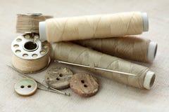 Materia de costura Imagen de archivo